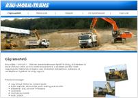 a Bau-Mobil-Trans Kft. weboldala