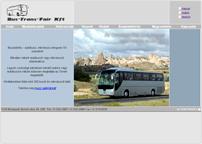 a Bus-Trans-Fair Kft. weboldala