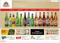 a Dreher Sörgyárak Zrt. vállalati weboldala
