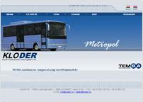 a Kloder Kft. weboldala
