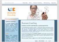 a Life Quality Consulting tanácsadó cég weboldala
