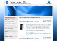 a Manual Hungary Kft. weboldala