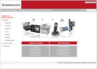 a Sagem Magyarország Kft. vállalati weboldala